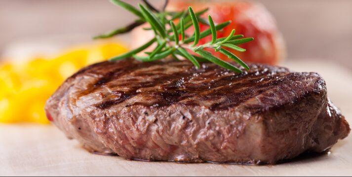 Ball Tip Sirloin Steak Cooked