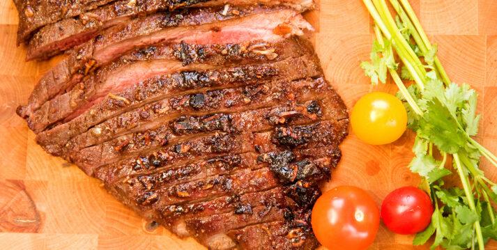 Churrasco Steak Cooked