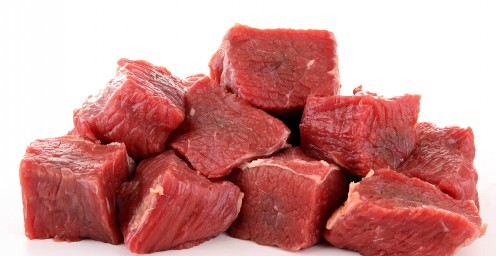 Raw Beef Rib Pieces
